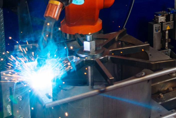 Vorrichtung für das Roboterschweißen